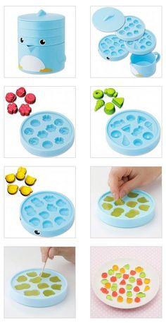 Penguin gummy maker