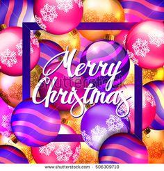 Christmas Background. #christmas #merrychristmas #vector #card