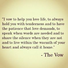 i love this vows