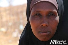 July 16: Somali women, fleeing the ongoing drought in the region they call home, are relocating to refugee camps throughout Ethiopia.  Because of the conditions of the camps, these women are at a heightened risk of gender-based violence.      Photo: International Medical Corps, Ethiopia 2011