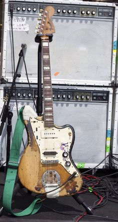 Fender Jazzmaster on tour