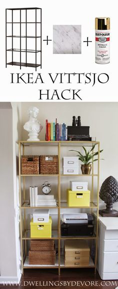 I've always loved the clean lines of the IKEA VITTSJO series and the fact that they are oh so easily hackable. I bought a few before we ...
