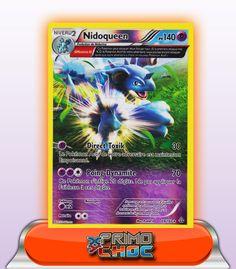NIDOQUEEN HOLO REVERSE 140PV - 69/160