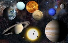 Planet Sorting Activity -