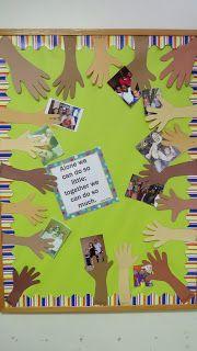 Tree crafts kindergarten bulletin boards Ideas for 2019 Classroom Family Tree, Toddler Classroom, Preschool Classroom, Preschool Activities, Diversity Activities, Infant Classroom Ideas, Family Bulletin Boards, Bulletin Board Tree, Preschool Bulletin Boards