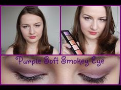 Purple Soft Smokey Eyes Tutorial // Using Inglot Rainbow Eyeshadows