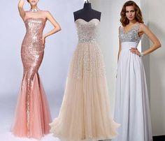 2015 sequin prom dresses uk