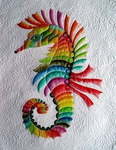 This showed up on my FB page thru the Quilting FB site. The maker appears to be Irena Bluhm. She says