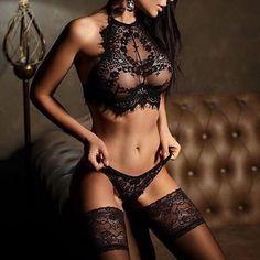 0c1b0f804 Lace Sexy Bra Set Push Up Seamless Embroidery Bralette Lingerie plus size  Transparent Women Underwear Brief set