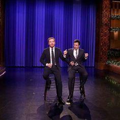 Michael on The Tonight Show Starring Jimmy Fallon (December 13, 2016) #michaelfassbender