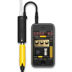 Rig sistema de interfaz de enlace de audio amp amplificador de guitarra pedal de efectos de guitarra convertidor del adaptador del cable jack para iphone ipad ipod