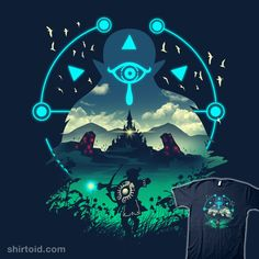 Wild Adventurer | Shirtoid #gaming #link #thelegendofzelda #videogame #vincenttrinidad