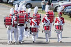 Munford High School Marching Band. The Drumline!