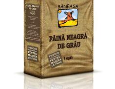 BANEASA FAINA NEAGRA DE GRAU / DARK WHEAT FLOUR - BANEASA