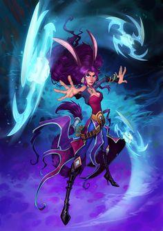 WildStar - Aurin Female Artwork