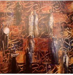 Ahmad Moualla Syrian artist
