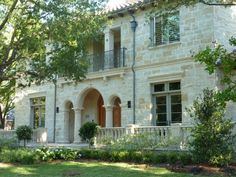 Brookshire Residence Front Elevation - mediterranean - exterior - dallas - L. Lumpkins Architect, Inc.