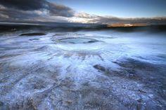 Alien landscapes on earth