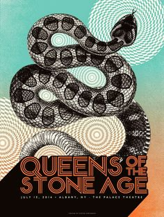 Status Serigraph Phish, 311, Queens of the Stone Age and Lots More Posters Release