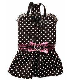 Designer Heart Dog Dress