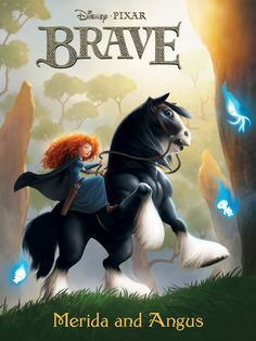 Brave Merida and Angus by JPRart.deviantart.com Brave Merida, Walt Disney, Disney Magic, Merida Disney, Disney Dream, Cute Disney, Highlands, Aladdin, Pocahontas