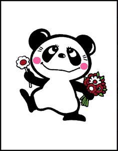 「ルーツ of Kawaii」内藤ルネ|キャラクター・作品 Old Master, Runes, Art Inspo, Panda, Minnie Mouse, Disney Characters, Fictional Characters, Cute Animals, Old Things