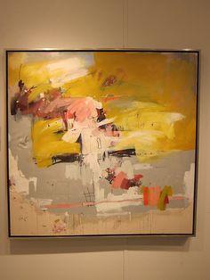 Lots of beautiful abstracts at Charles Harold Co.