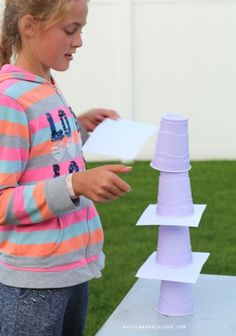 paper cup games