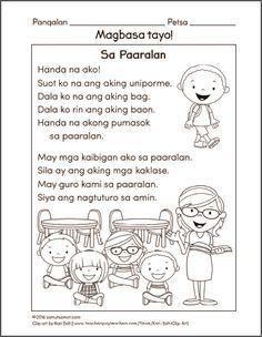 Filipino worksheets for Grade 1 Archives - Samut-samot Grade 1 Reading Worksheets, Reading Comprehension Grade 1, Kindergarten Reading Activities, Comprehension Activities, Reading Passages, Printable Preschool Worksheets, Free Kindergarten Worksheets, Kids Worksheets, Printables