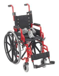 Wenzelite Wallaby Pediatric Folding Wheelchair, Red, 12 Inch  The #Wallaby #Pediatric #Folding #Wheelchair by Drive Medical is the perfect solution for anyone looking for a portable pediatric wheelchair. This pediatric wheelchair with a 12 wide seat provides mobility, comfort, and safety for the user.