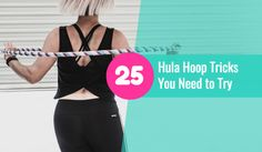 There are hundreds of ways to spin a hula hoop and not all of them are on your waist (although that is super fun! Try it out ) Learning hoop tricks is a great way to strengthen your body and tone your arms but will also give you great focus for your workouts and dance. Try …