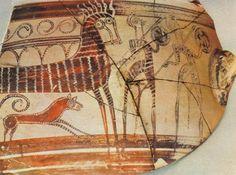 periodo geométrico de la cerámica griega