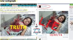 There is a massive campaign of lies being shared against Israel by using fake or non-relevant pictures