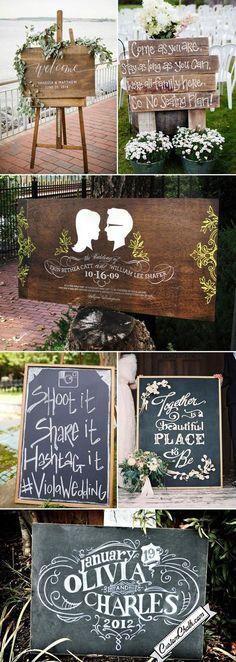 wedding signs vintage best photos - wedding signs  - cuteweddingideas.com
