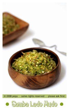 Samba Lado Mudo (Minangese Green Chilies Sambal)