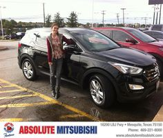 #HappyAnniversary to Oliver  Kline on your 2014 #Hyundai #Santa Fe Sport from Karen  Dabney  at Absolute Mitsubishi!