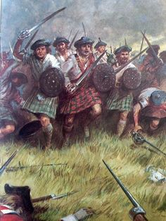 """The Highland Charge was a daring but highly effective tactic that saw the Jacobites win almost every battle in the '45 Rising right up until the Battle of Culloden.  Here the boggy ground, poor communication and the tactics of the British army saw the Highland Charge, along with the Jacobite rising defeated.  We will never forget Culloden 1746 and Butcher Cumberland  who gave the order """"No Quarter"""" the most hated words in the Highlands of Scotland to this day."""