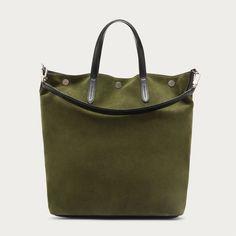 TROOPER - CAPER 15 CALF SUEDE Business Bags