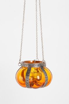 Hanging Glass Candle Holder - Urban Outfitters