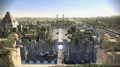 The Ancient City Of Babylon In Its Architectural Peak Showcased Through Gorgeous 3D Animations.