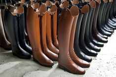 A shot during production of Petrie Ridingboots Horse Riding Boots, Riding Gear, Horse Tack, Tall Boots, Knee High Boots, Men's Equestrian, Equestrian Fashion, Horseback Riding Outfits, English Riding