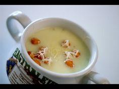 Fokhagymakrémleves videó recept (Garlic Soup) - YouTube Bors, Garlic Soup, Cheeseburger Chowder, Youtube, Youtubers, Youtube Movies