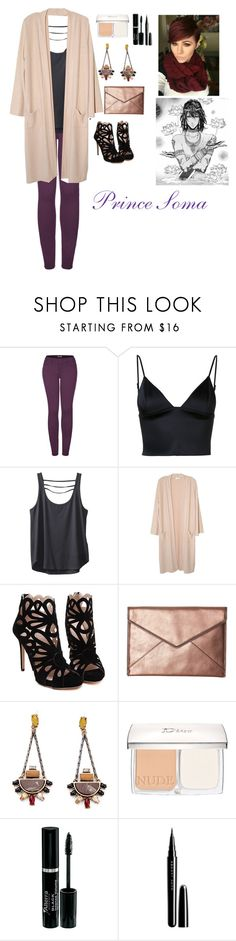 """""""Prince Soma"""" by charbear231 ❤ liked on Polyvore featuring 2LUV, T By Alexander Wang, Kavu, NYTT, Rebecca Minkoff, Christian Dior and Marc Jacobs"""