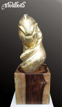 reliving brancusi's pogany (bronze) 2014