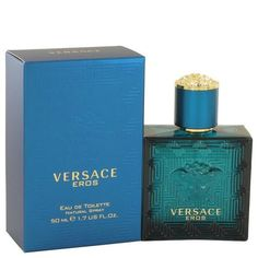 VERSACE EROS by Versace EAU DE TOILETTE Spray 1.7 oz for Men