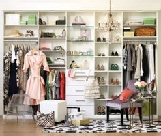 Walk In Closet On Pinterest Walk In Closet Closet Designs And