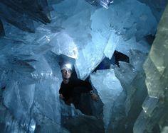 Coco 的美術館: 世界十大地質奇蹟--墨西哥巨人水晶洞 Giant Crystal Cave