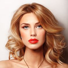 Perfect golden blonde locks for summer!