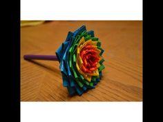 DIY Duct Tape Flower Pen - YouTube