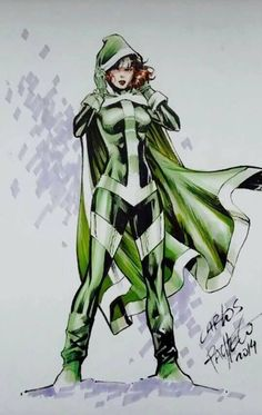 Rogue by Carlos Pacheco * Not a huge Rogue fan, but this is nice art! Comic Book Characters, Marvel Characters, Comic Character, Comic Books Art, Female Characters, Book Art, Gambit X Men, Rogue Gambit, Polaris Marvel